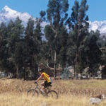 Ciclismo en el callejón de Huaylas